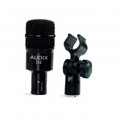 Microfone Dinâmico para Instrumento Audix D2