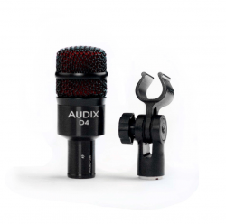Microfone Dinâmico para Instrumento Audix D4
