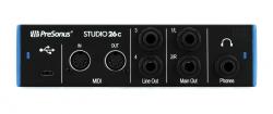 Interface de Áudio Presonus Studio 26C