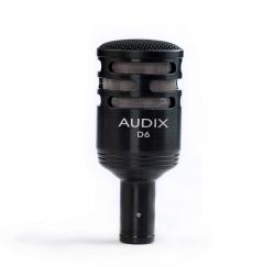 Microfone Dinâmico para Instrumento Audix D6