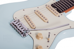 Guitarra Schecter Signature Nick Johnston Traditional Atomic Frost