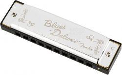 Gaita Fender Blues Deluxe em C (Dó) Original com Case